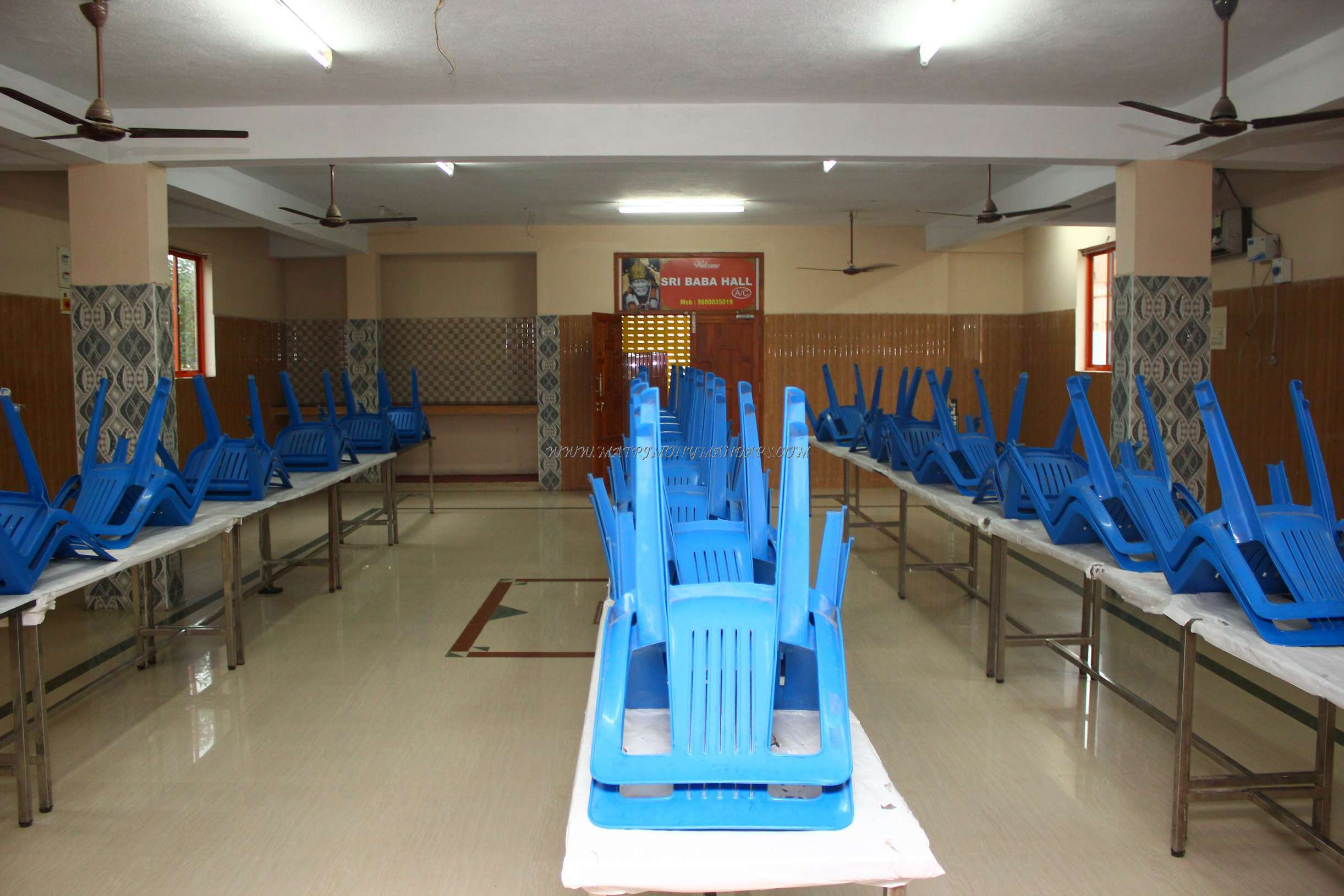 Find the availability of the Sri Baba Hall  (A/C) in West Mambalam, Chennai and avail special offers