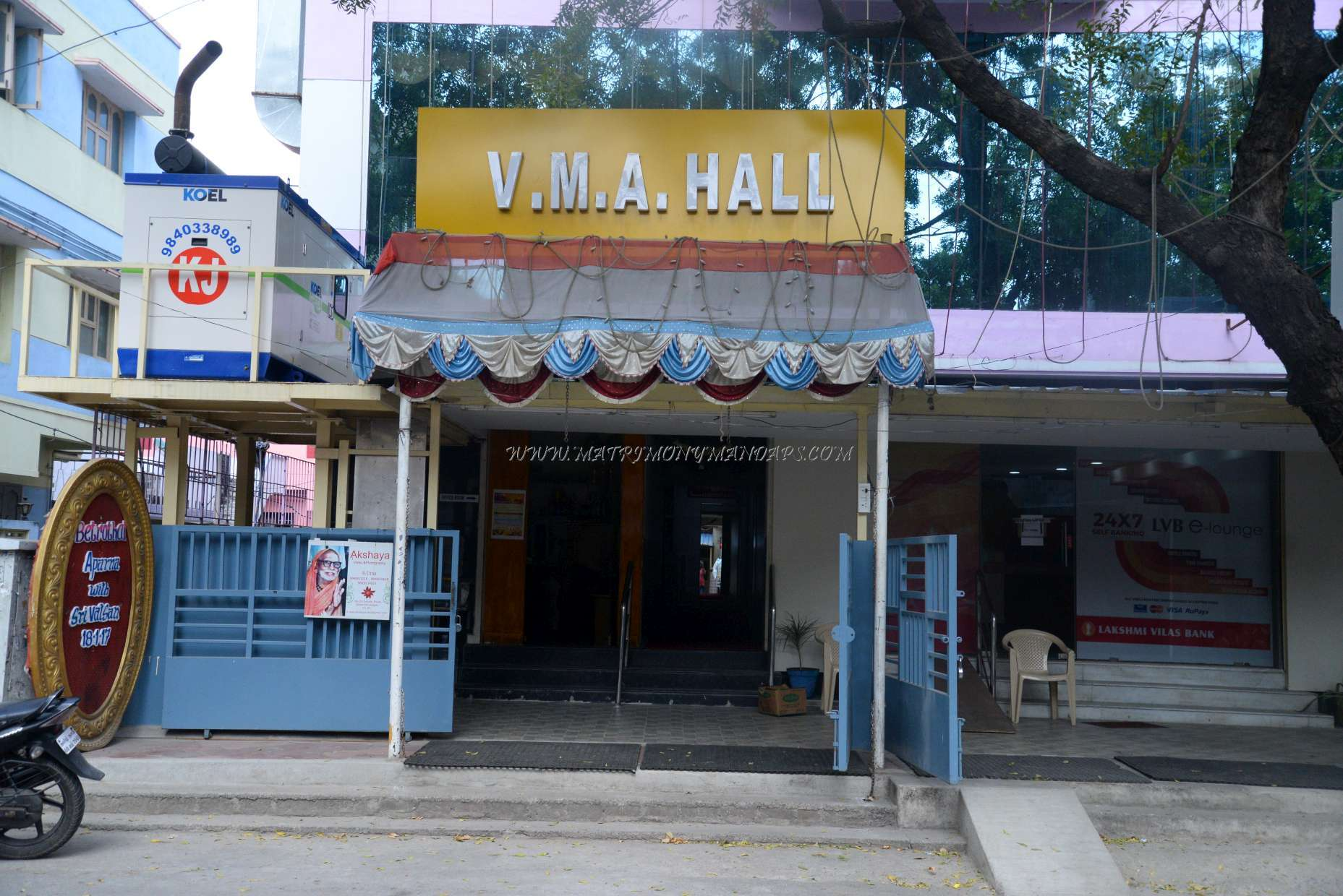 Find the availability of the VMA Hall  (A/C) in West Mambalam, Chennai and avail special offers