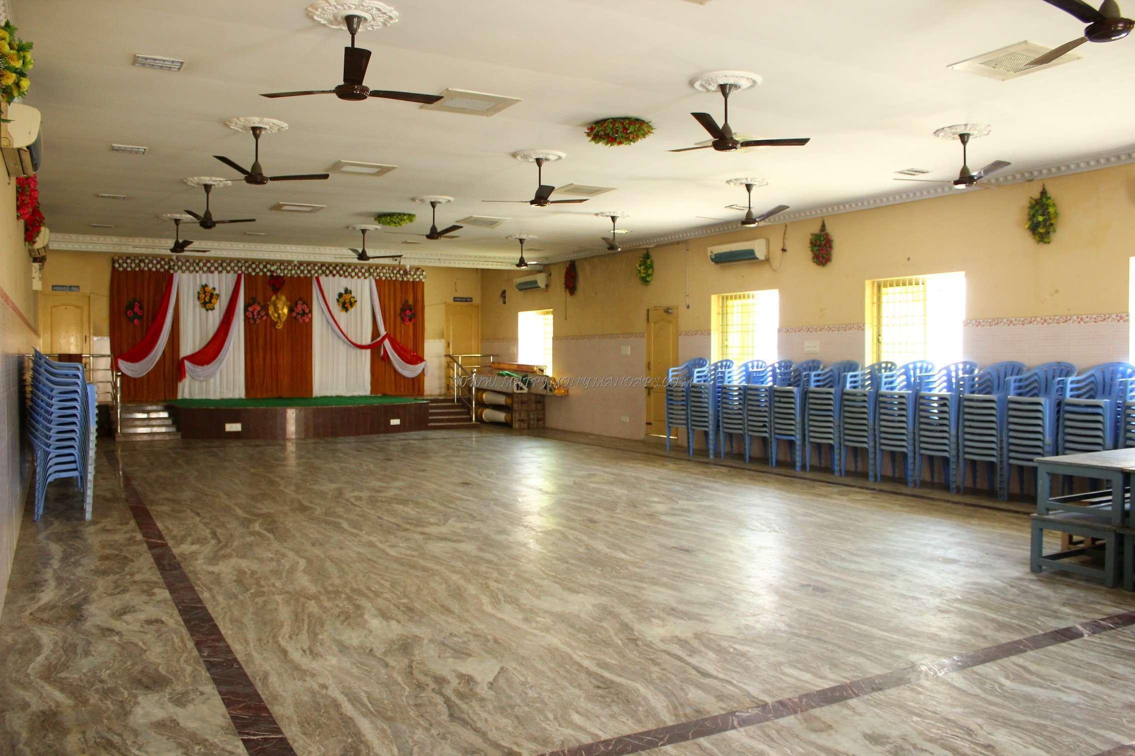 CR Thirumana Mandapam - Hall