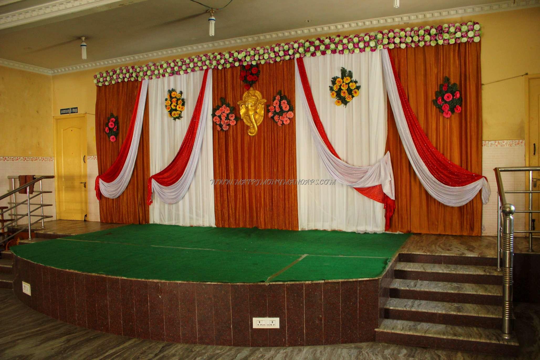 CR Thirumana Mandapam - Stage