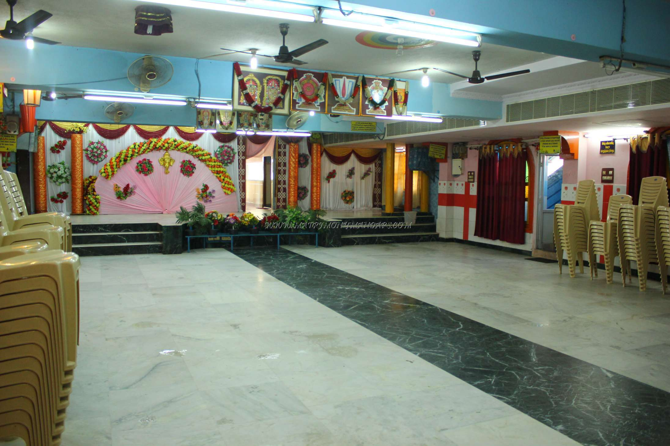Find the availability of the Abirami Thirumana Koodam (A/C) in Chrompet, Chennai and avail special offers
