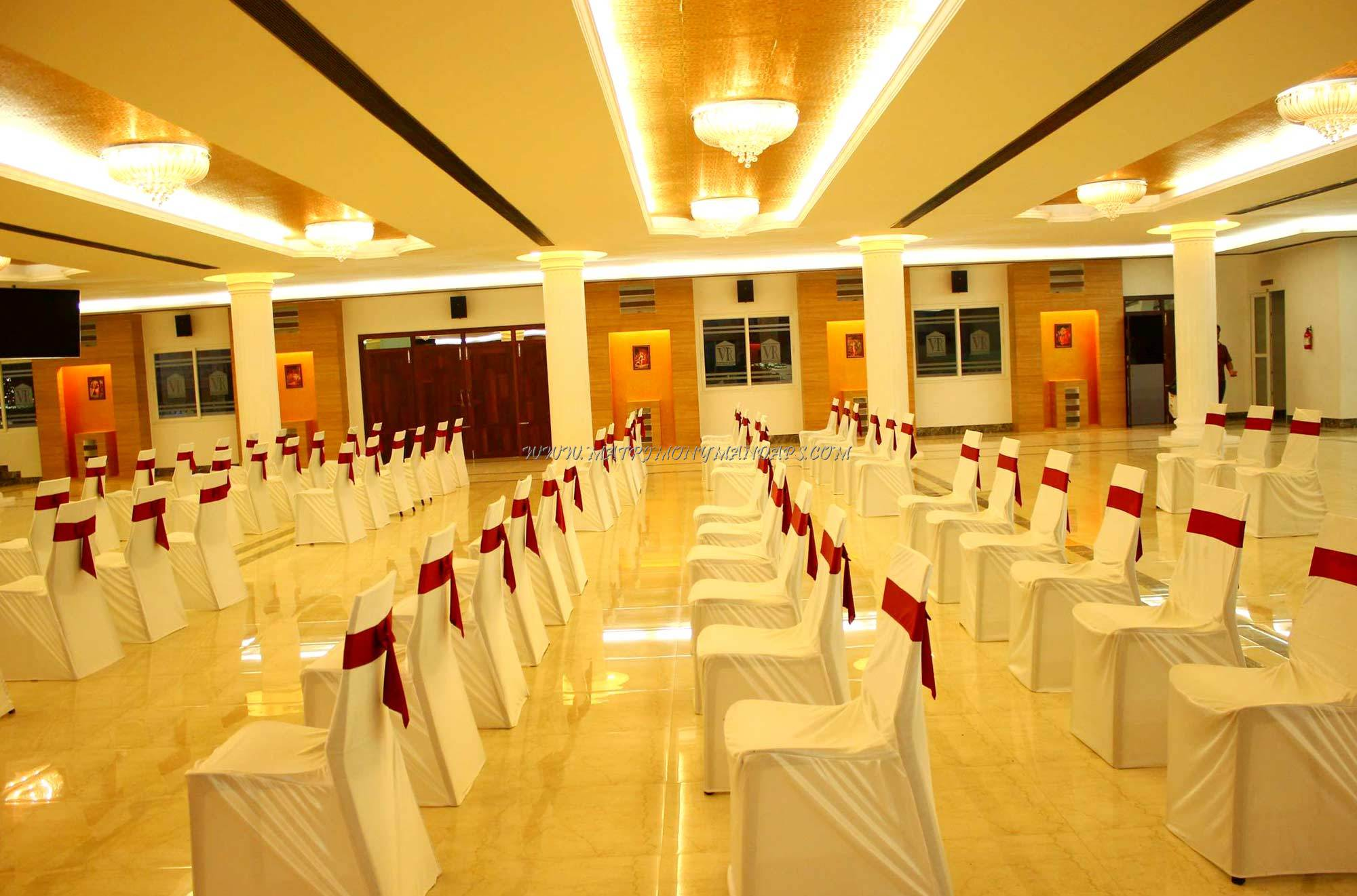 Find the availability of the Vijay Raja Thirumana Mandapam (A/C) in Medavakkam, Chennai and avail special offers
