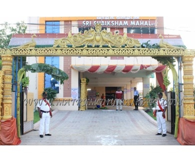 Find the availability of Sri Subiksham Mahal (A/C)  in Avadi, Chennai and avail the special offers