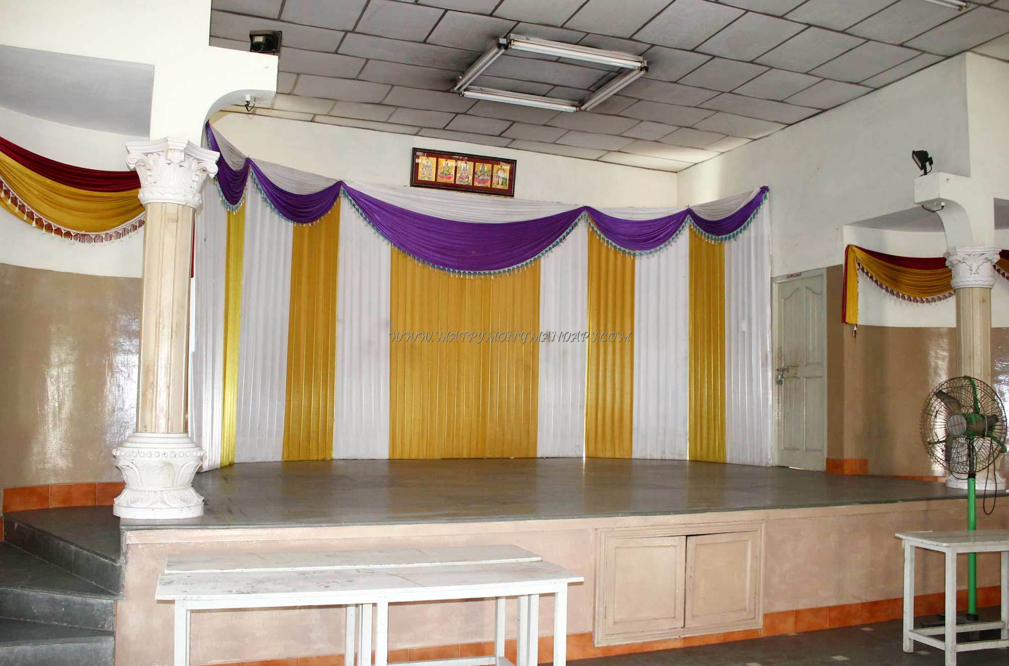 Find the availability of the Rajaveni Thirumana Mandapam in Jyothi Nagar, Chennai and avail special offers