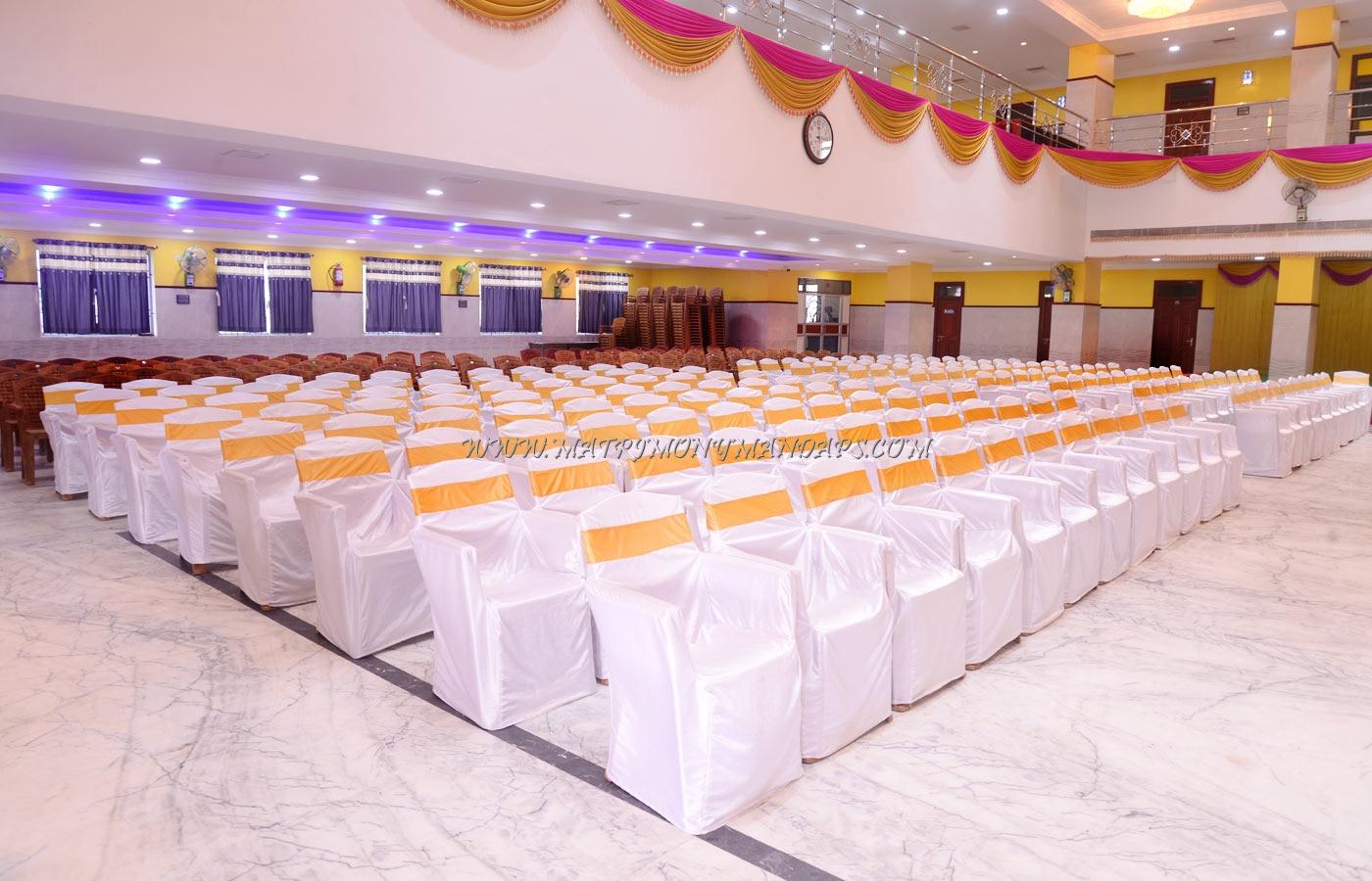 MSK Diamond Mahal - Hall
