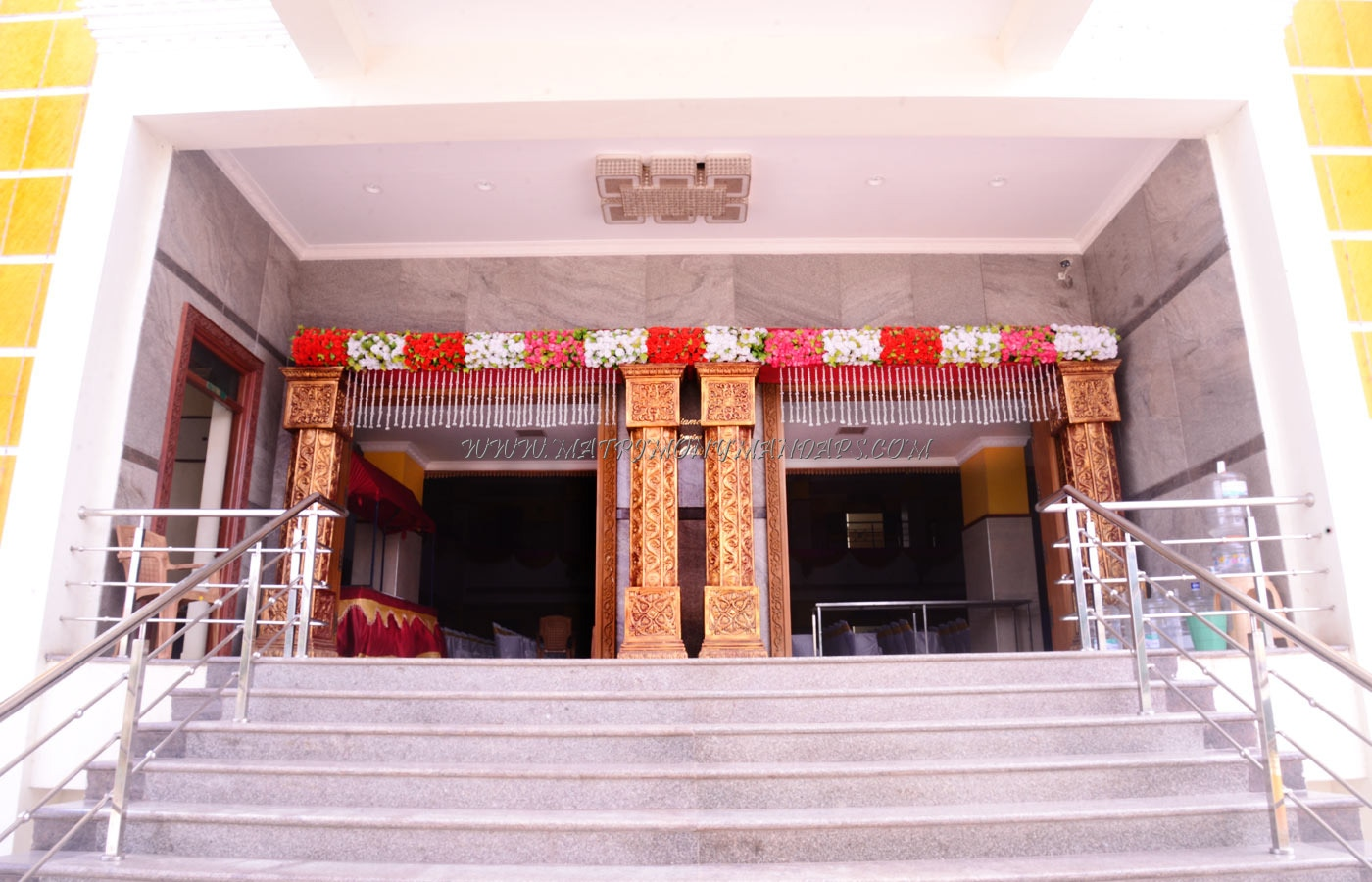 MSK Diamond Mahal - Entrance