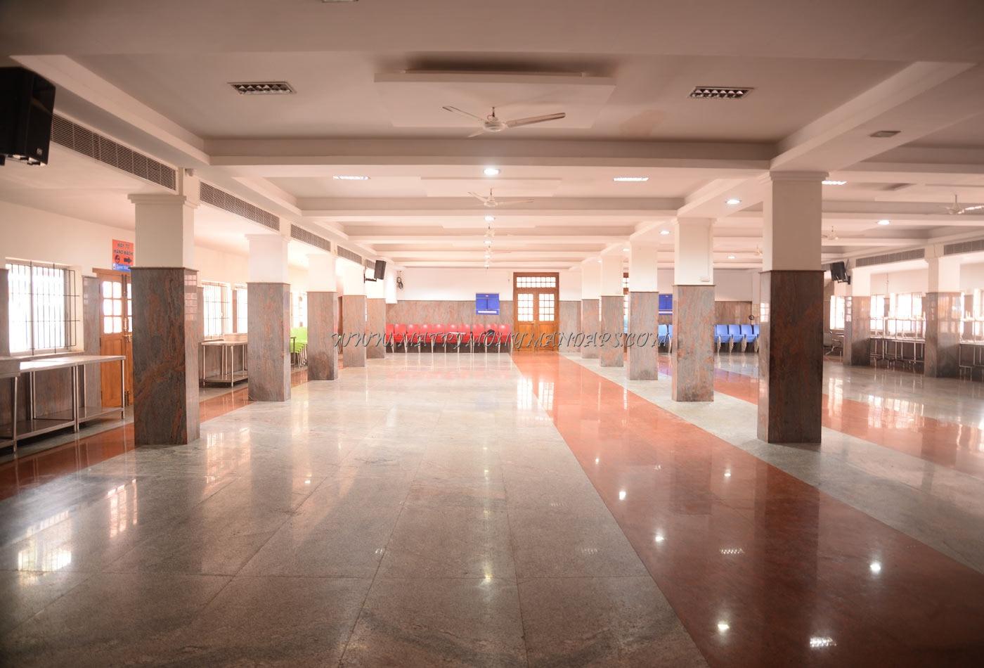 Shivalaiya Mahal Auditorium AC - Dining Hall