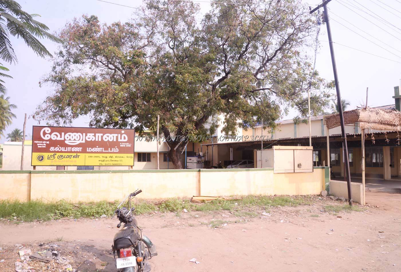 Find the availability of the Venuganam Kalyana Mandapam in Vadamadurai, Coimbatore and avail special offers