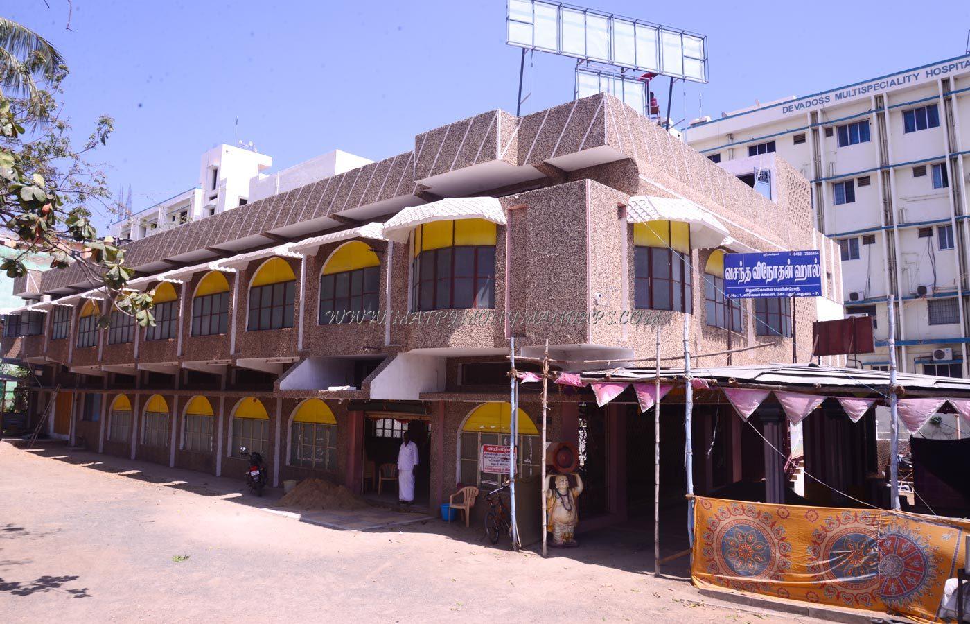 Vasantha Vinothan Hall - Building View