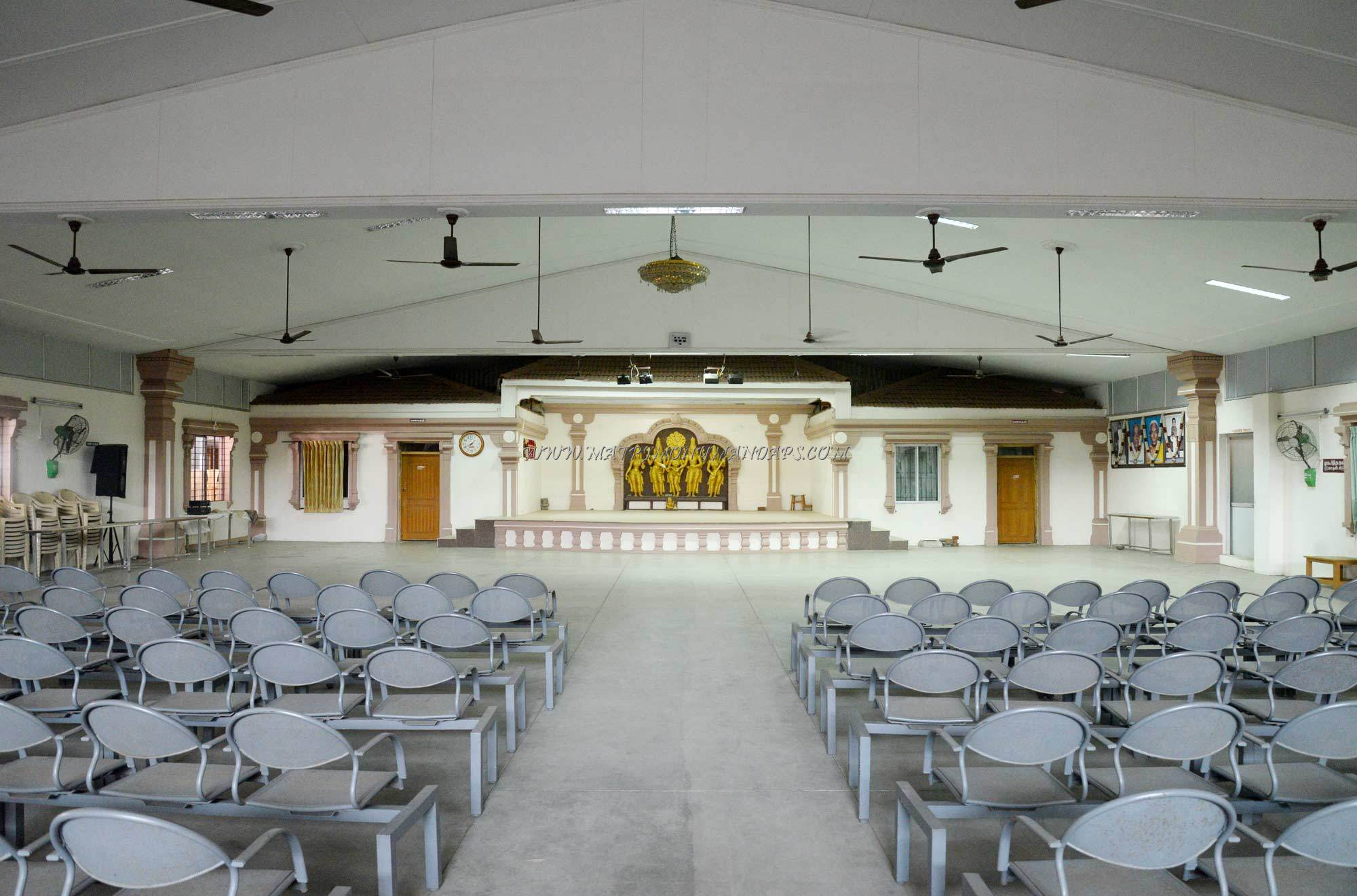 Find the availability of the RVS Kumaran Thirumana Mandapam in Sulur, Coimbatore and avail special offers
