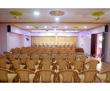 Find the availability of Raja Rani Mini Hall  (A/C)  in Chinna Chokkikulam, Madurai and avail the special offers