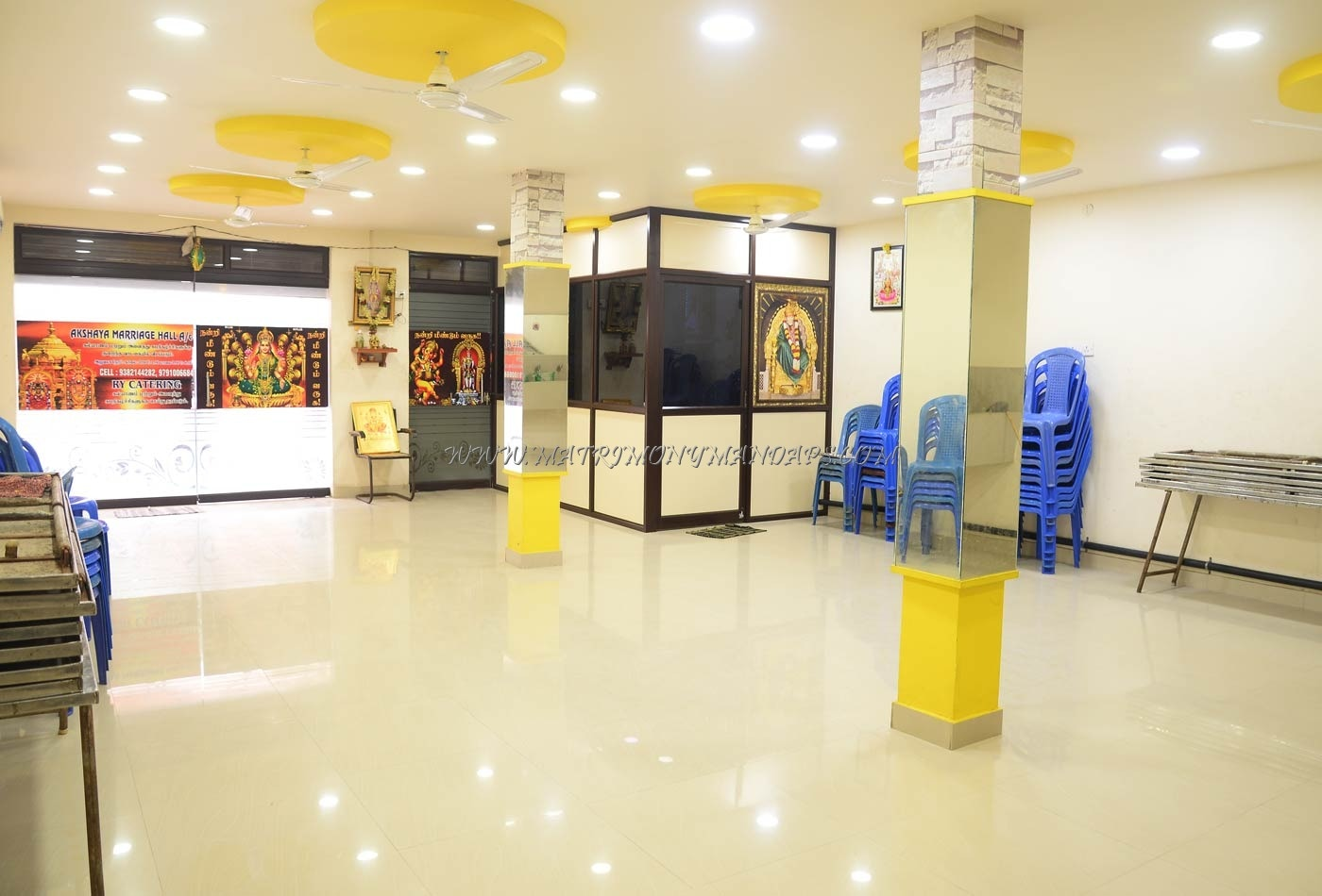 Find the availability of the Akshaya Marriage  Hall (A/C) in Vadapalani, Chennai and avail special offers