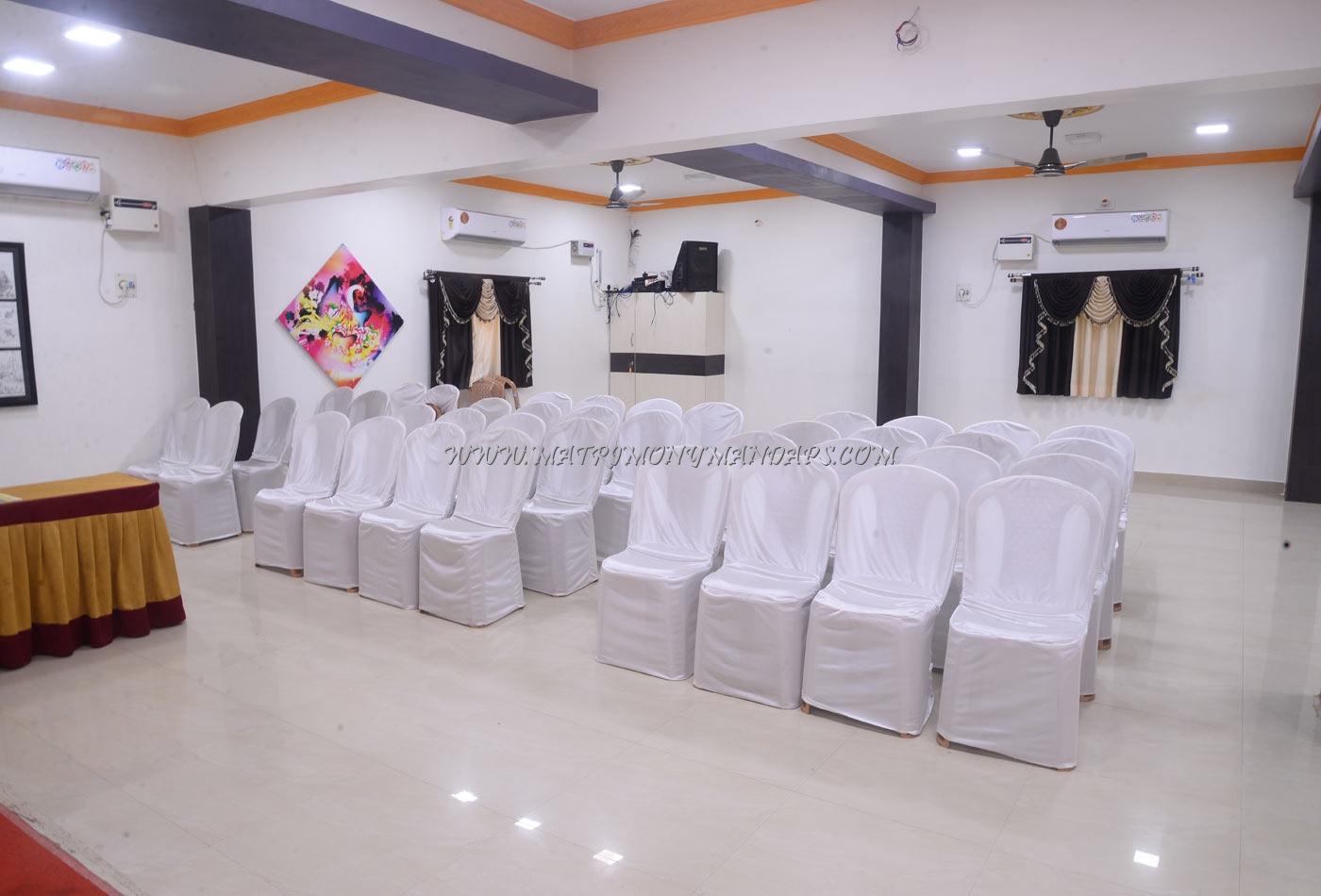 Find the availability of the Bhavanis Party Hall (A/C) in Sembarambakkam, Chennai and avail special offers