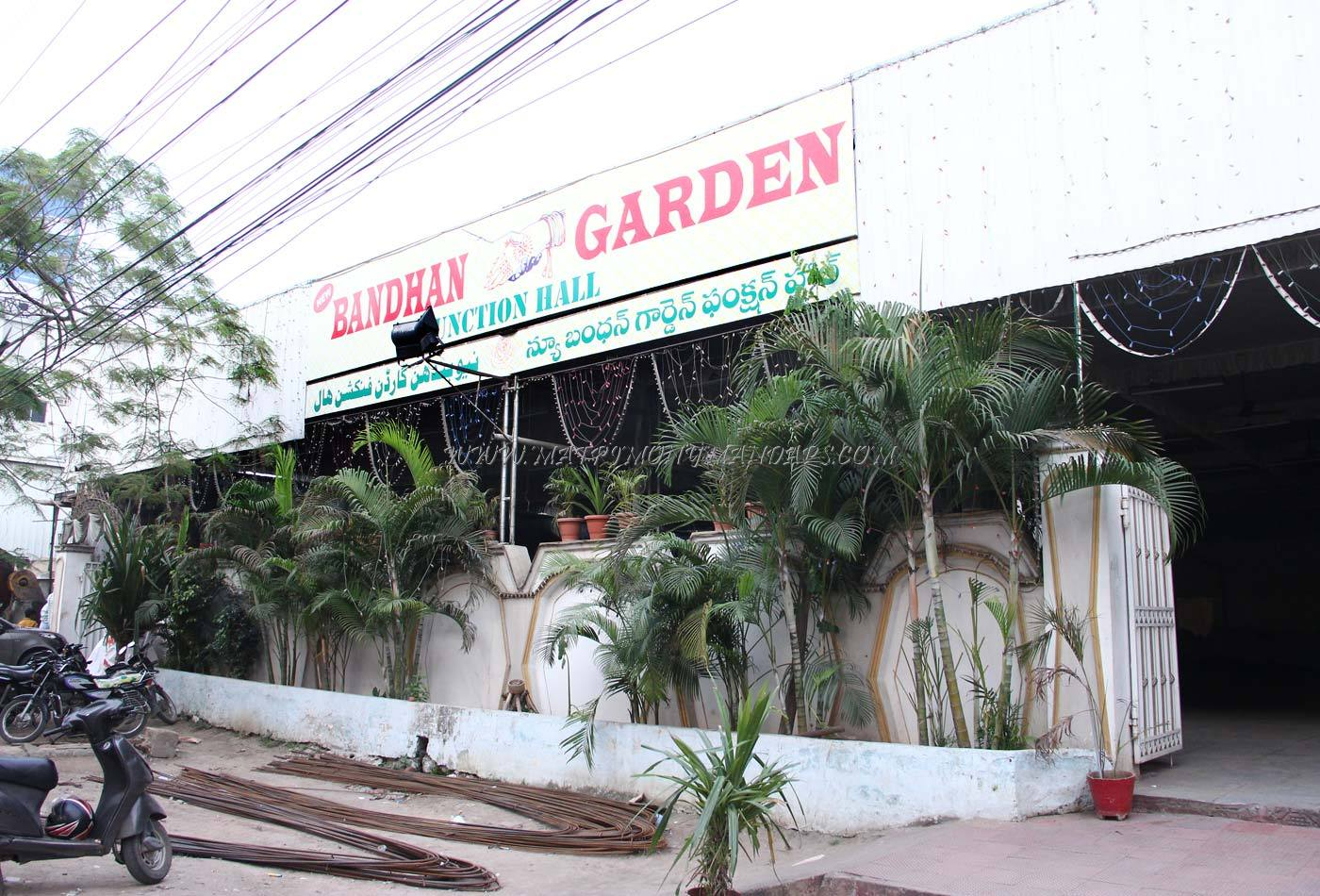 Find the availability of the New Bandhan Garden Function Hall in Mehdipatnam, Hyderabad and avail special offers