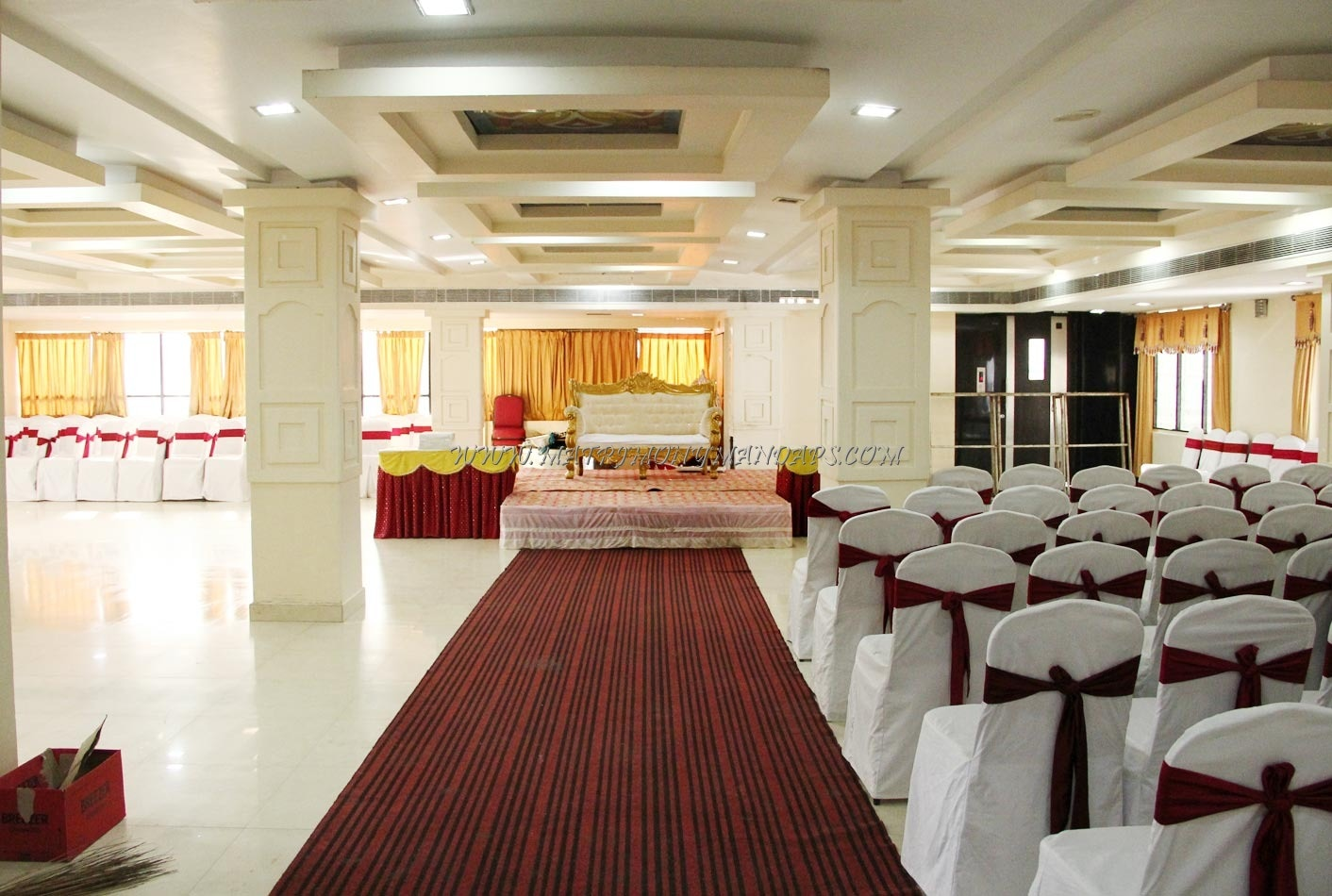 Find the availability of the Vennela Banquet Hall (A/C) in Attapur, Hyderabad and avail special offers