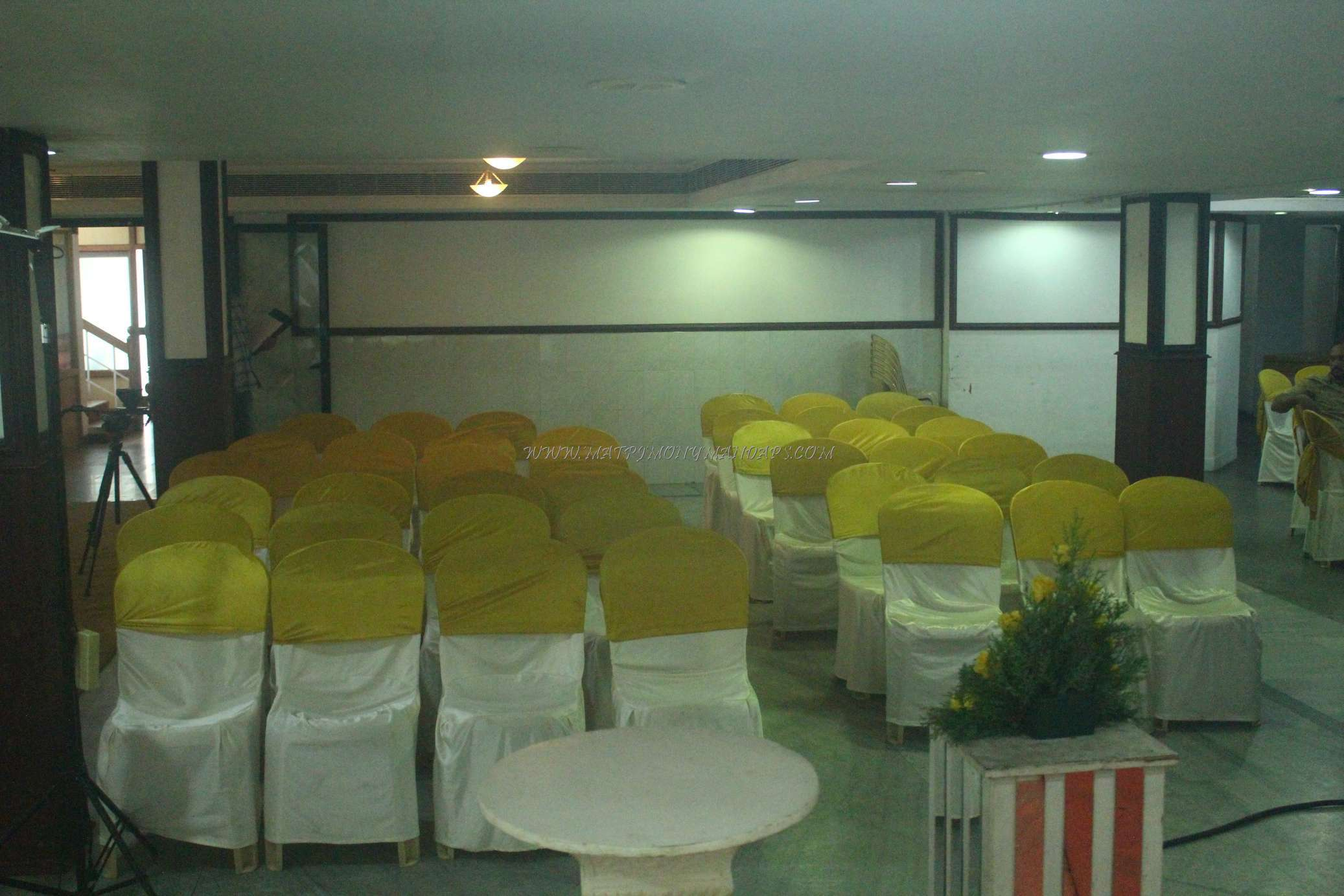Find the availability of the Abhishekam Convention Centre - Hall 1 (A/C) in Tripunithura, Kochi and avail special offers