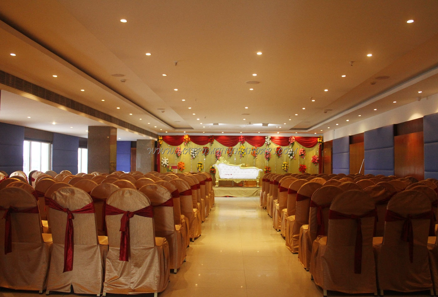 Find the availability of the Hotel Time Square Coral Banquet (A/C) in s p road, Hyderabad and avail special offers