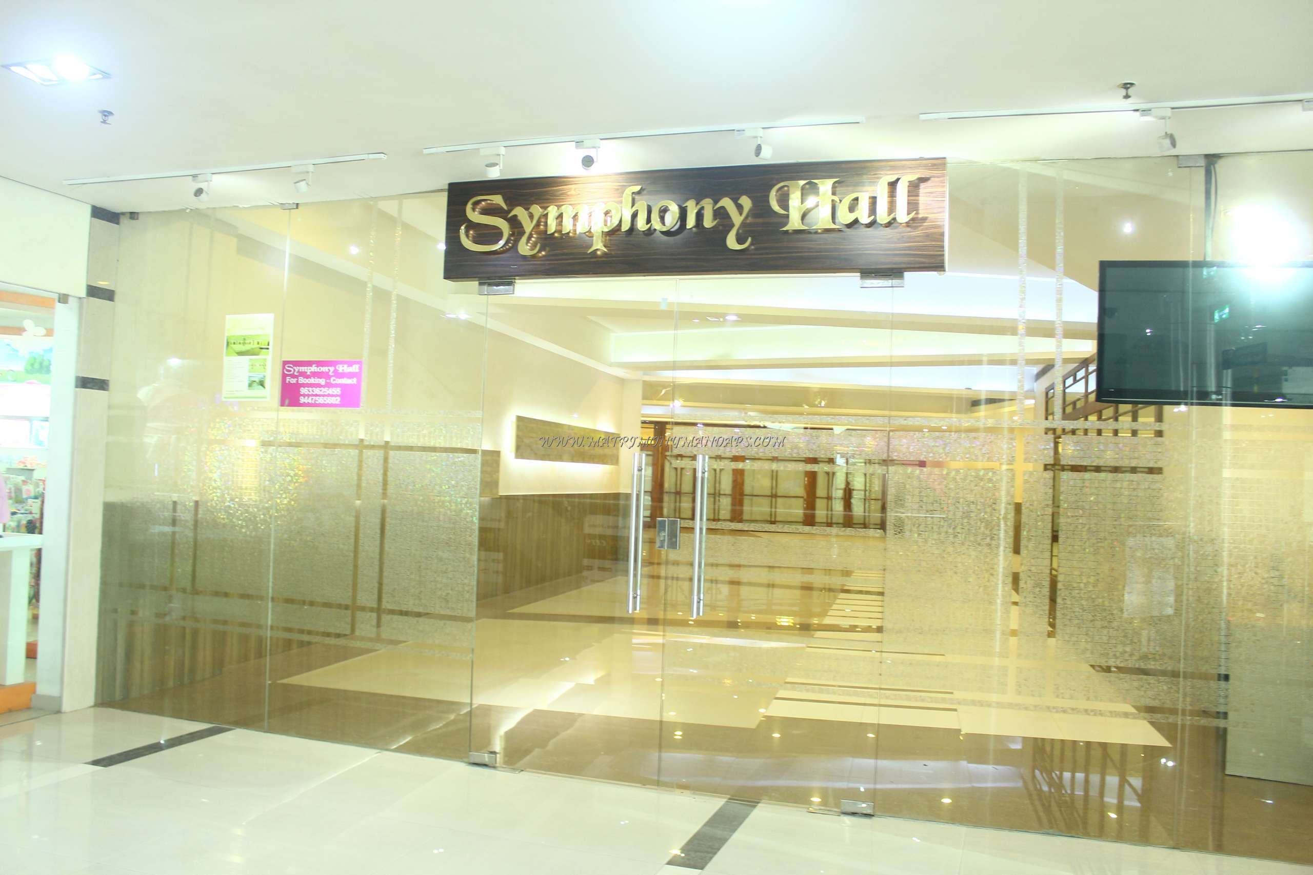 Find the availability of the Abad Symphony Hall (A/C) in Maradu, Kochi and avail special offers