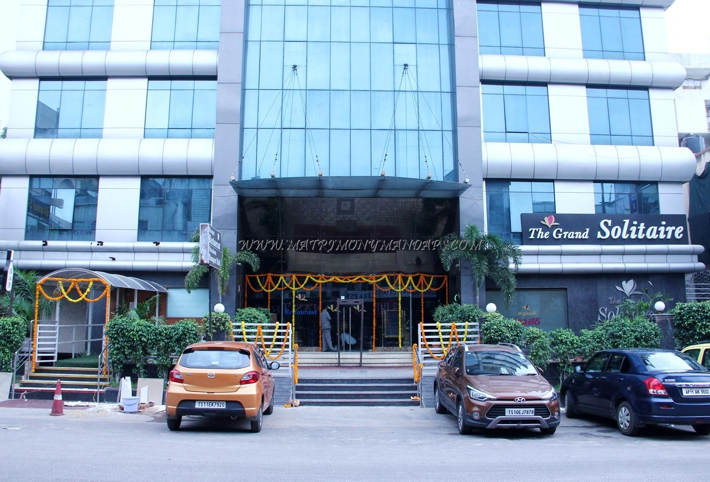 Find the availability of the The Grand Solitaire Hotel (A/C) in s p road, Hyderabad and avail special offers