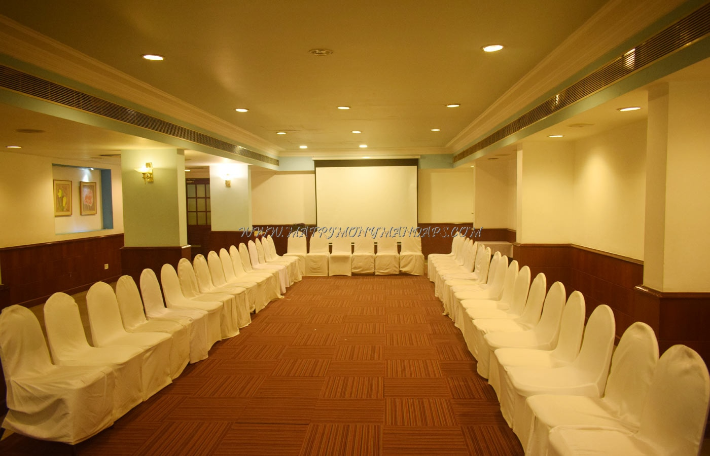 Find the availability of the Abad Plaza - Inner Circle Hall (A/C) in MG Road, Kochi and avail special offers
