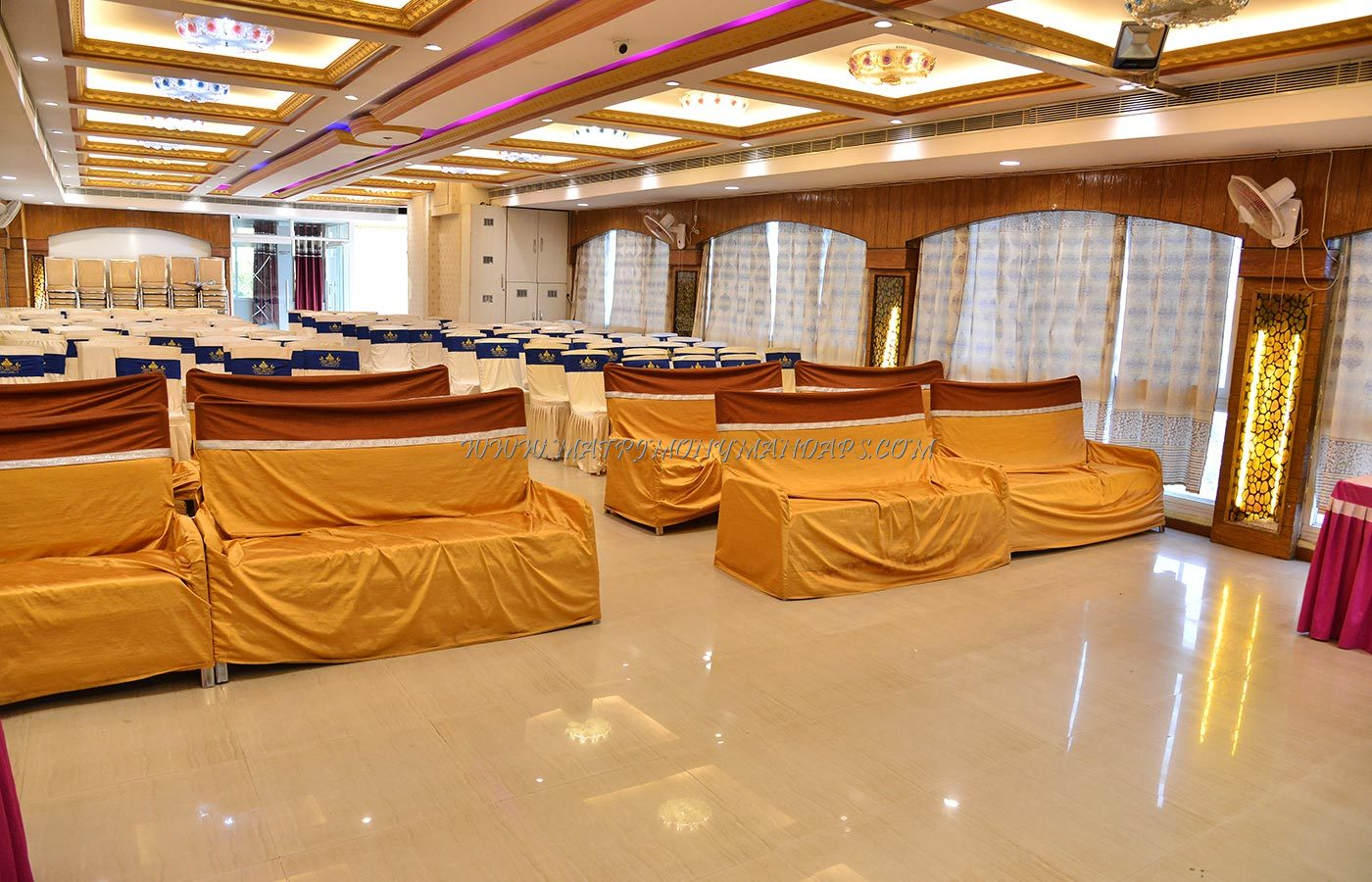 Find the availability of the Sree Vedika Convention Hall (A/C) in Padmarao Nagar, Hyderabad and avail special offers