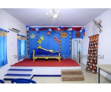 Find the availability of JVP Mini Hall  (A/C)  in Porur, Chennai and avail the special offers