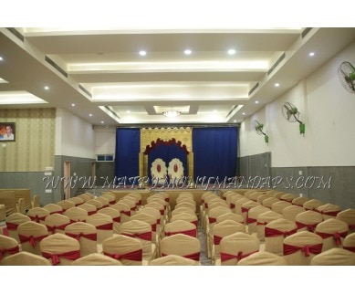 Find the availability of Sri Nandi Residency Convention Hall (A/C)  in Rajajinagar, Bangalore and avail the special offers