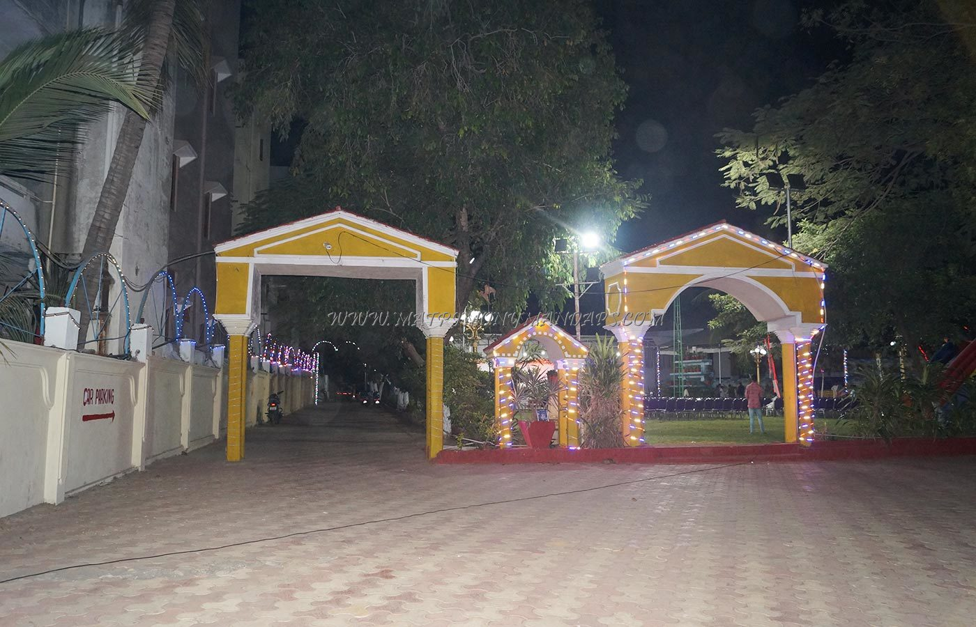 Find the availability of the Sri Sreerama Kalyana Mandapam in Champapet, Hyderabad and avail special offers