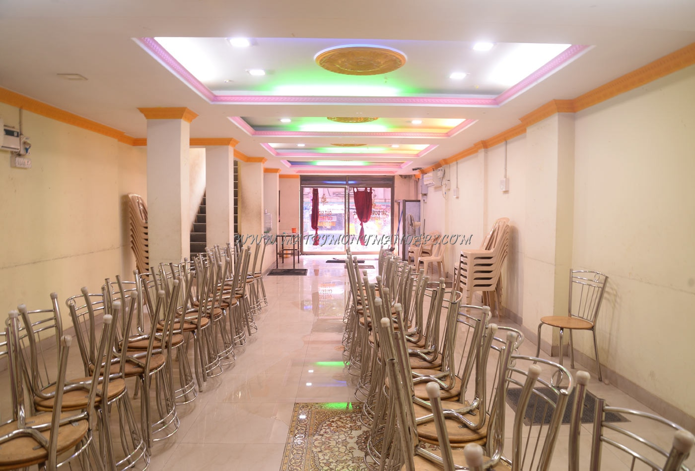 Find the availability of the Sri Durga Mahal (A/C) in Korattur, Chennai and avail special offers