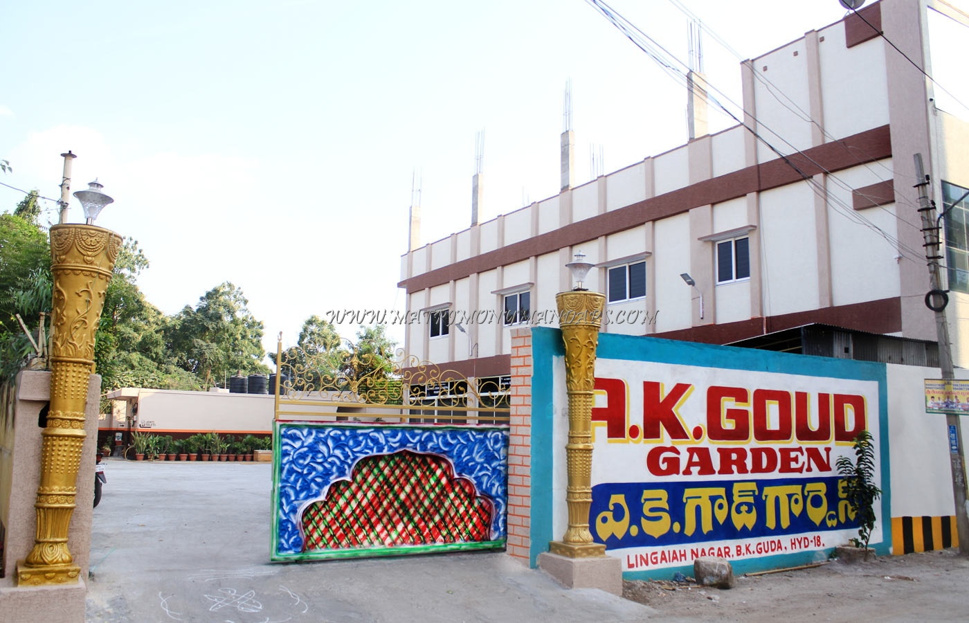 Find the availability of the AK Goud Function Hall (A/C) in Ameerpet, Hyderabad and avail special offers