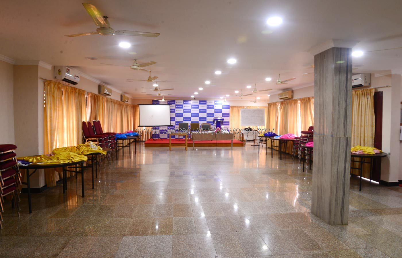 Find the availability of the Hotel Excellency Banquet Hall 1 (A/C) in MG Road, Kochi and avail special offers