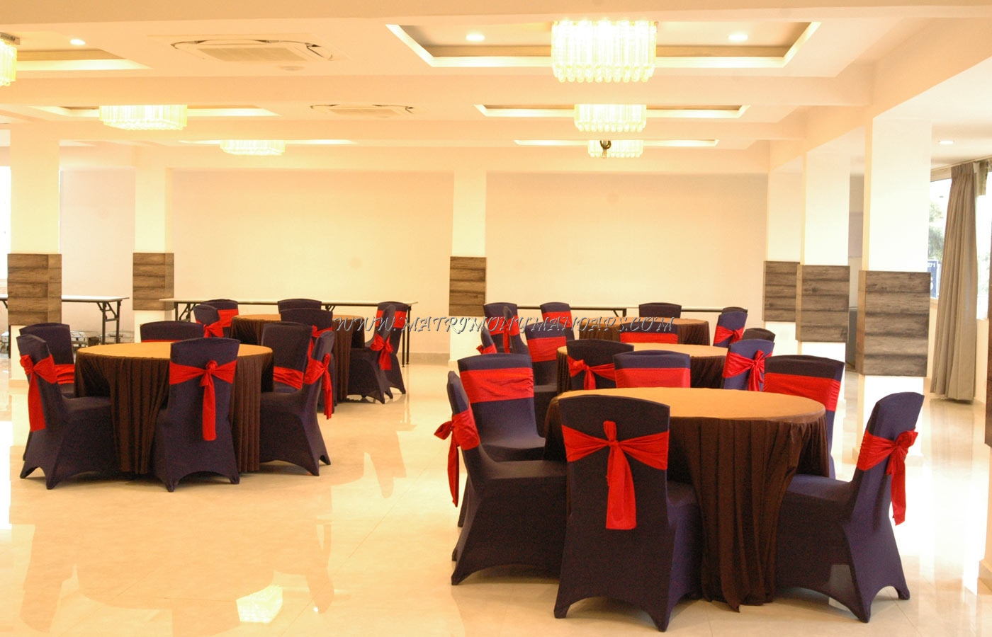 Find the availability of the NVR Banquet Hall (A/C) in Dr AS Rao Nagar, Hyderabad and avail special offers