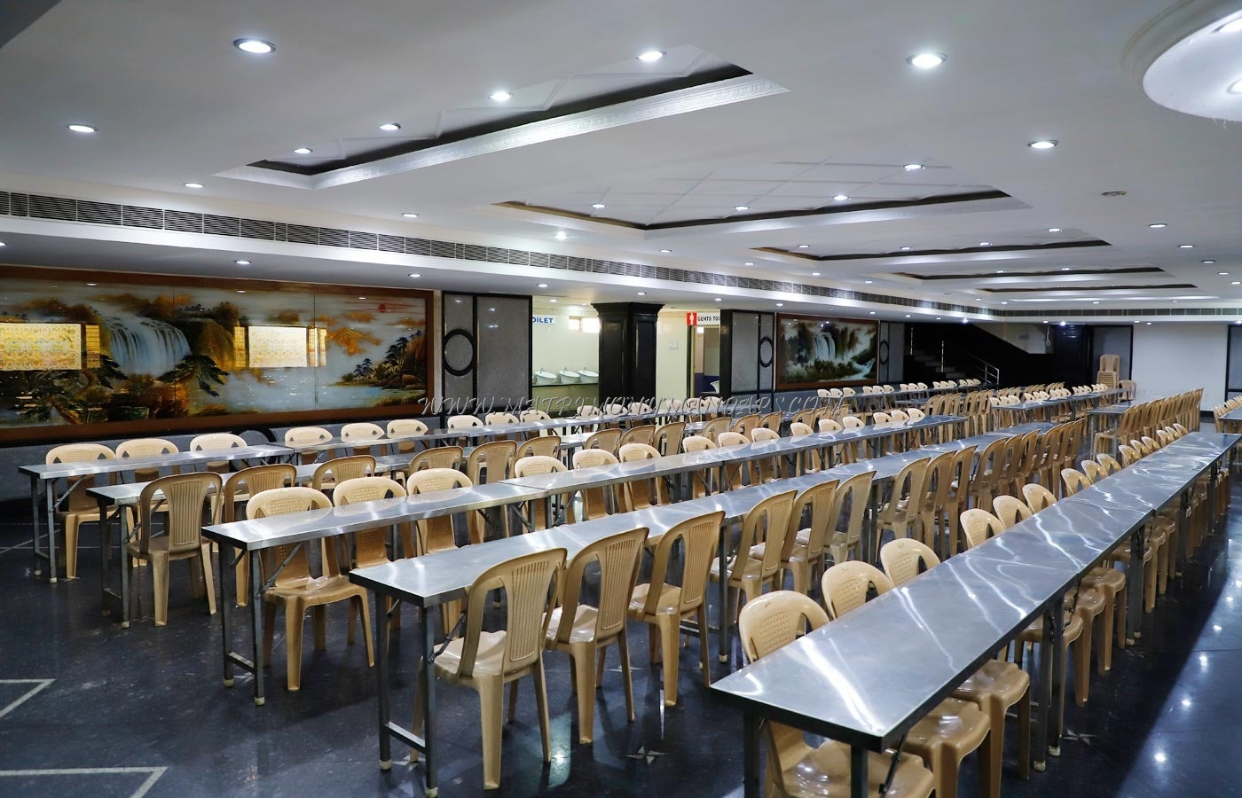 Shamala Siddagangaiah Convention Centre - Dining Hall