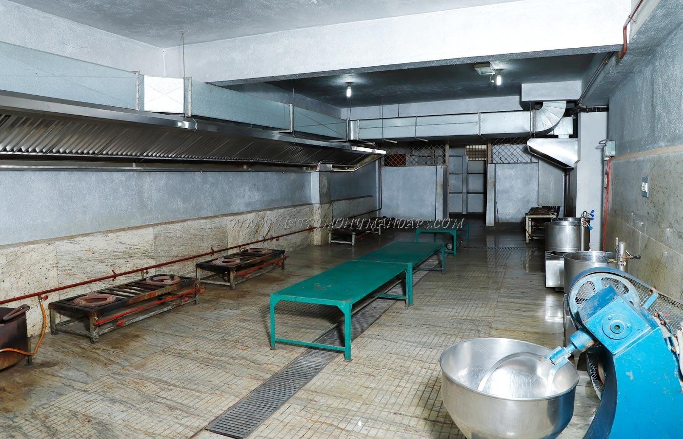 Shamala Siddagangaiah Convention Centre - Kitchen