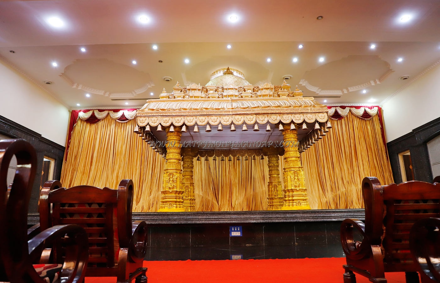 Shamala Siddagangaiah Convention Centre - Stage
