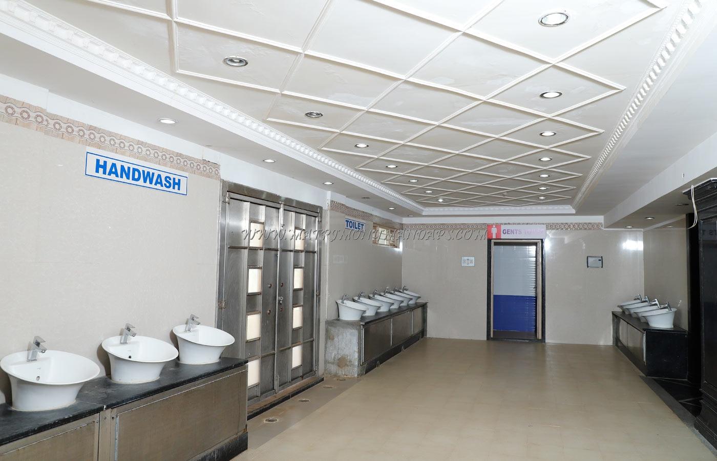 Shamala Siddagangaiah Convention Centre - Wash Area