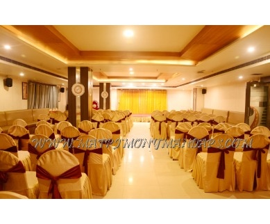 Find the availability of the Hotel Sitara Grand - Banquet Hall 1 (A/C) in Kukatpally, Hyderabad and avail special offers