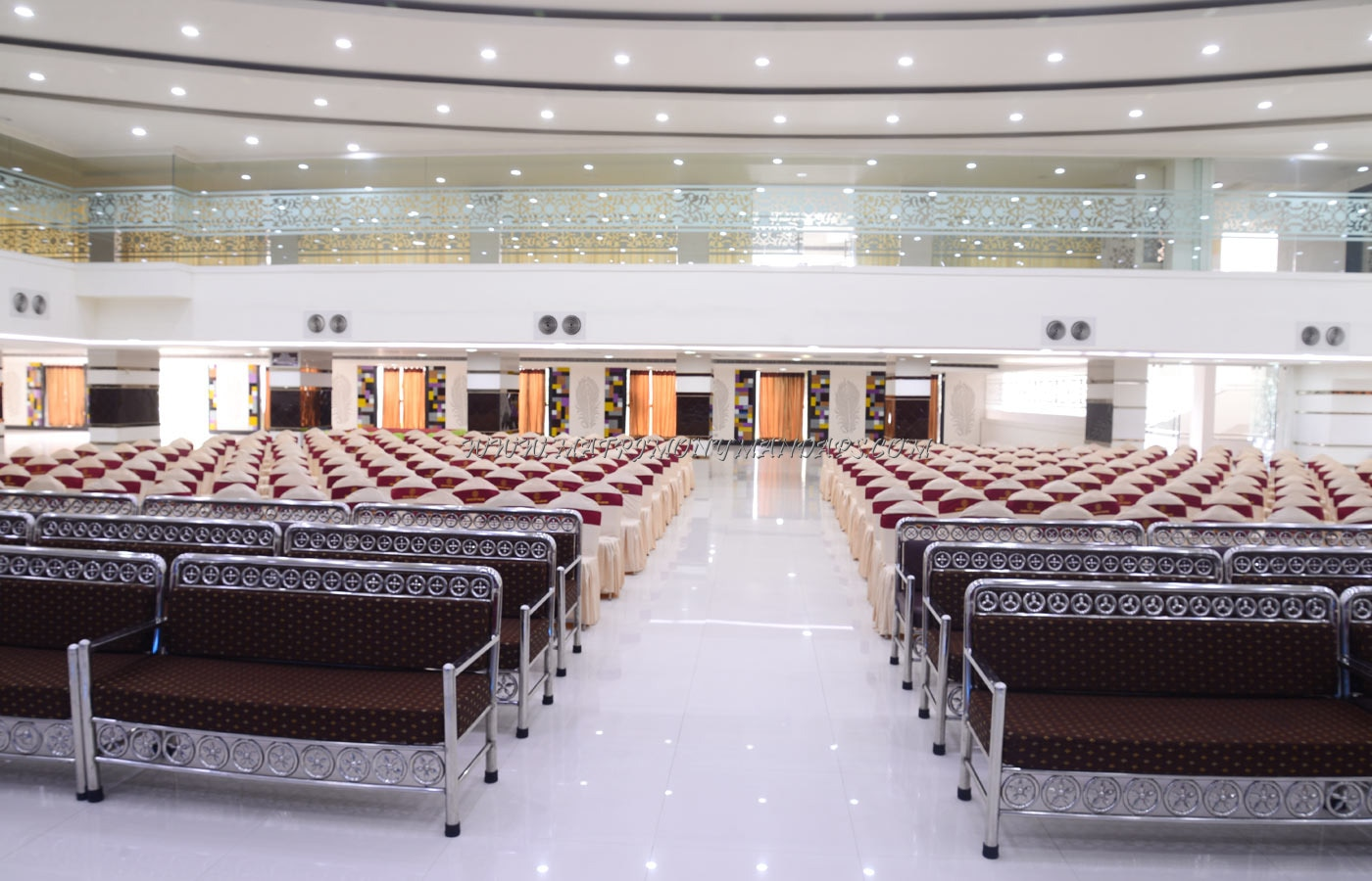 Find the availability of the Hotel Swagath Convention - Bhaskara (A/C) in Jillelaguda, Hyderabad and avail special offers
