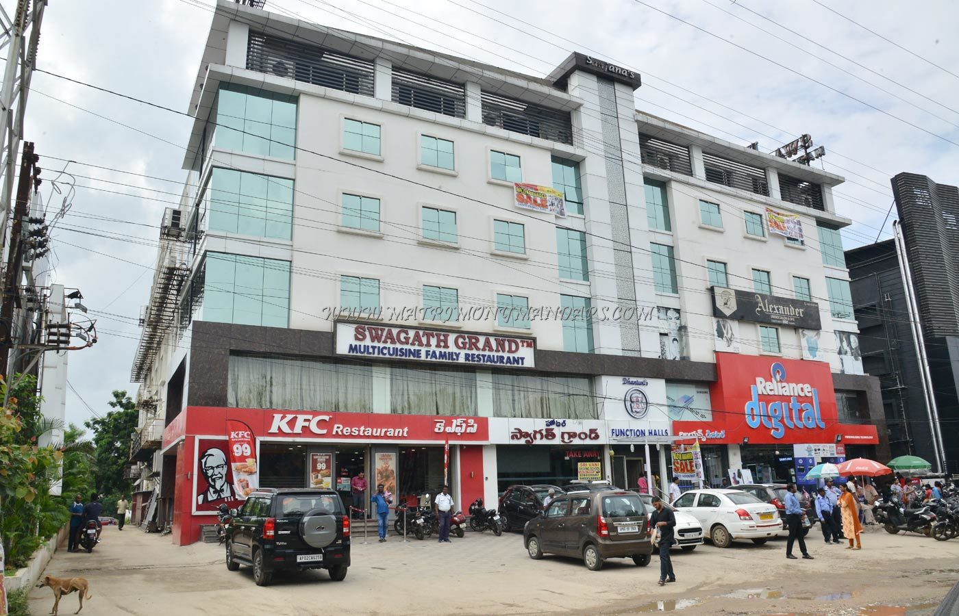 Find the availability of the Hotel Swagath Grand - Galaxy Hall (A/C) in Suchitra, Hyderabad and avail special offers
