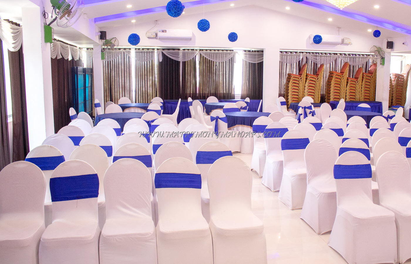 Find the availability of the Blue Pearl Luxury Banquet Hall (A/C) in RT Nagar, Bangalore and avail special offers