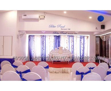 Find the availability of Blue Pearl Luxury Banquet Hall (A/C)  in RT Nagar, Bangalore and avail the special offers