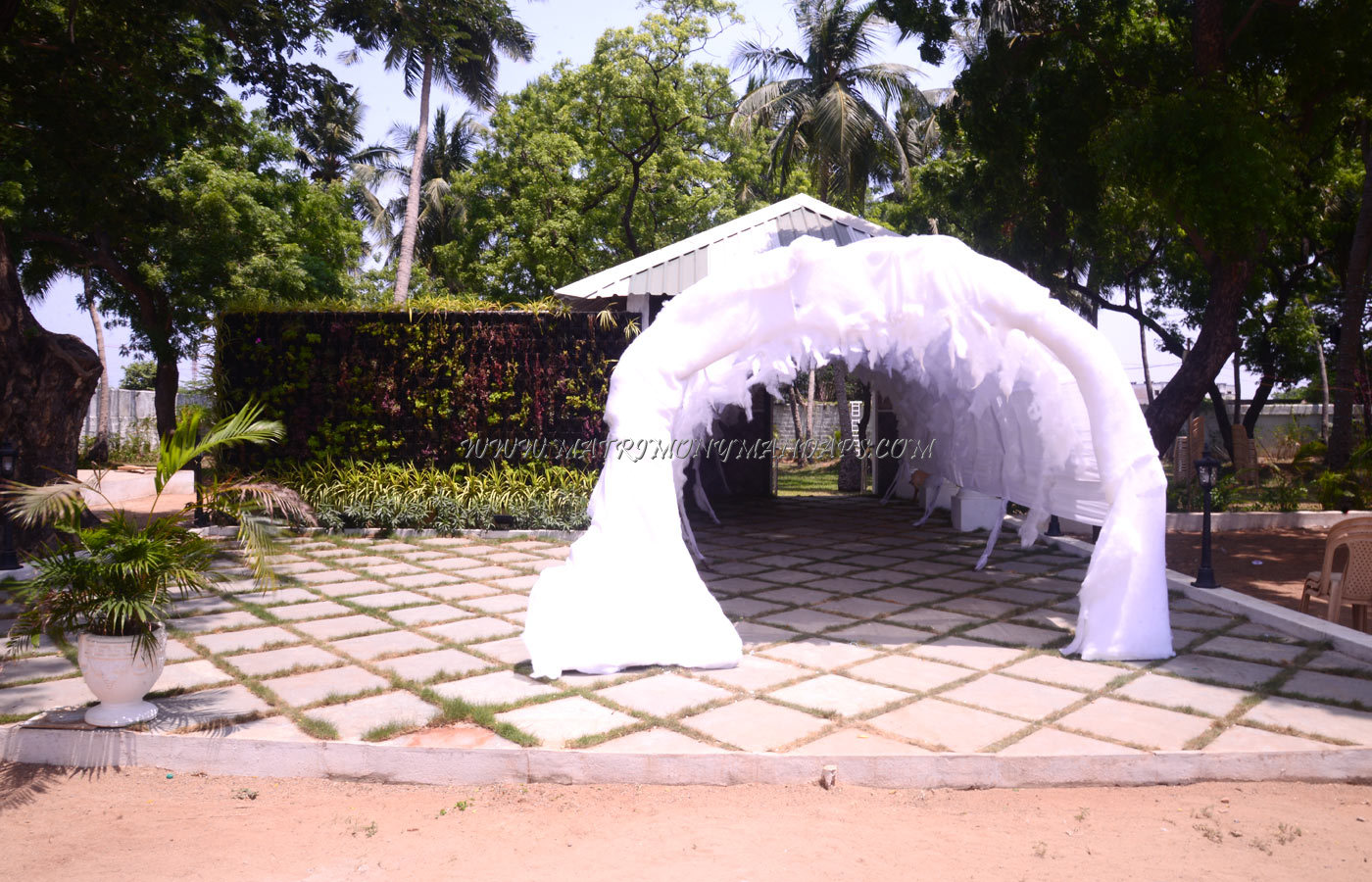 Find the availability of the Mantra Garden Open Lawn (A/C) in Nandanam, Chennai and avail special offers