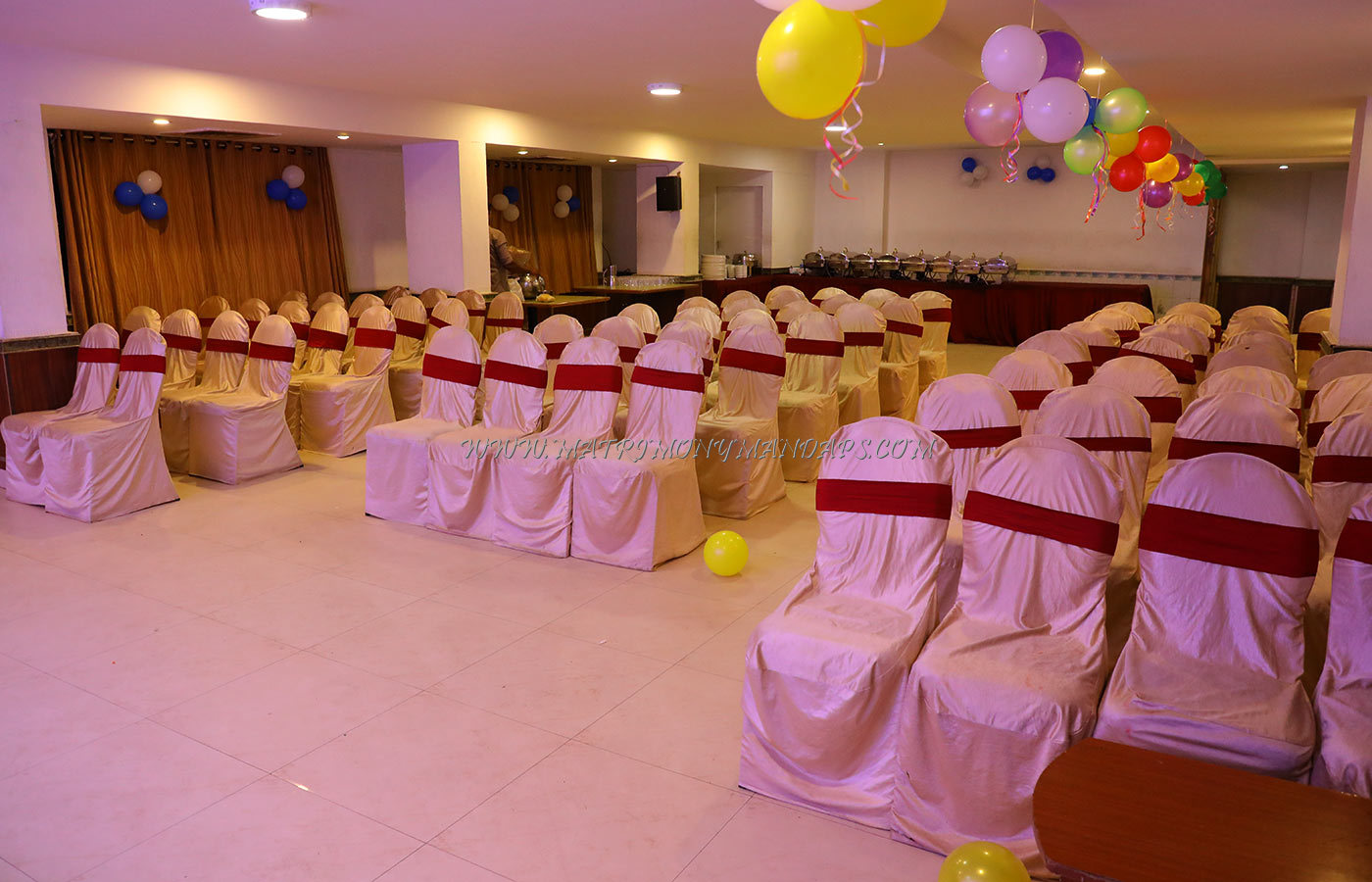 Find the availability of the Tabla Banquet Hall - A (A/C) in Kukatpally, Hyderabad and avail special offers