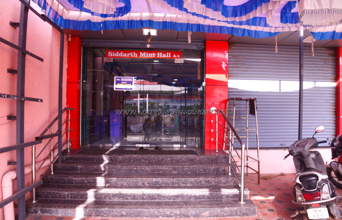 Find the availability of the Siddarth Mini Hall (A/C) in Perambur, Chennai and avail special offers