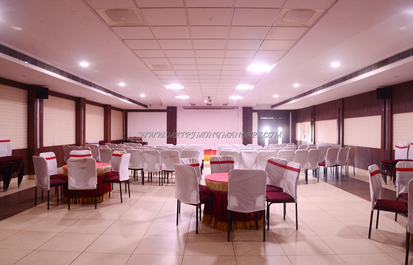 Find the availability of the SMS Hotel Hall 1 (A/C) in Peelamedu, Coimbatore and avail special offers