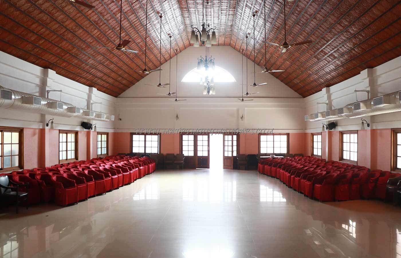 Find the availability of the Hotel Indraprastha Auditorium (A/C) in Palakkad Town, Palakkad and avail special offers