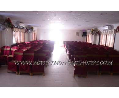 Find the availability of Ranjith Party Hall (A/C)  in Pallavaram, Chennai and avail the special offers