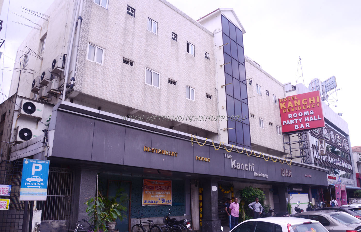 Find the availability of the The Kanchi Residency Hall 1 (A/C) in Anna Nagar, Chennai and avail special offers
