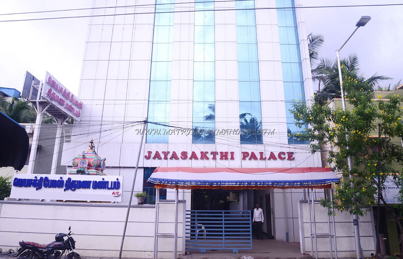 Find the availability of the Jayasakthi Pale Marriage Hall (A/C) in Madipakkam, Chennai and avail special offers