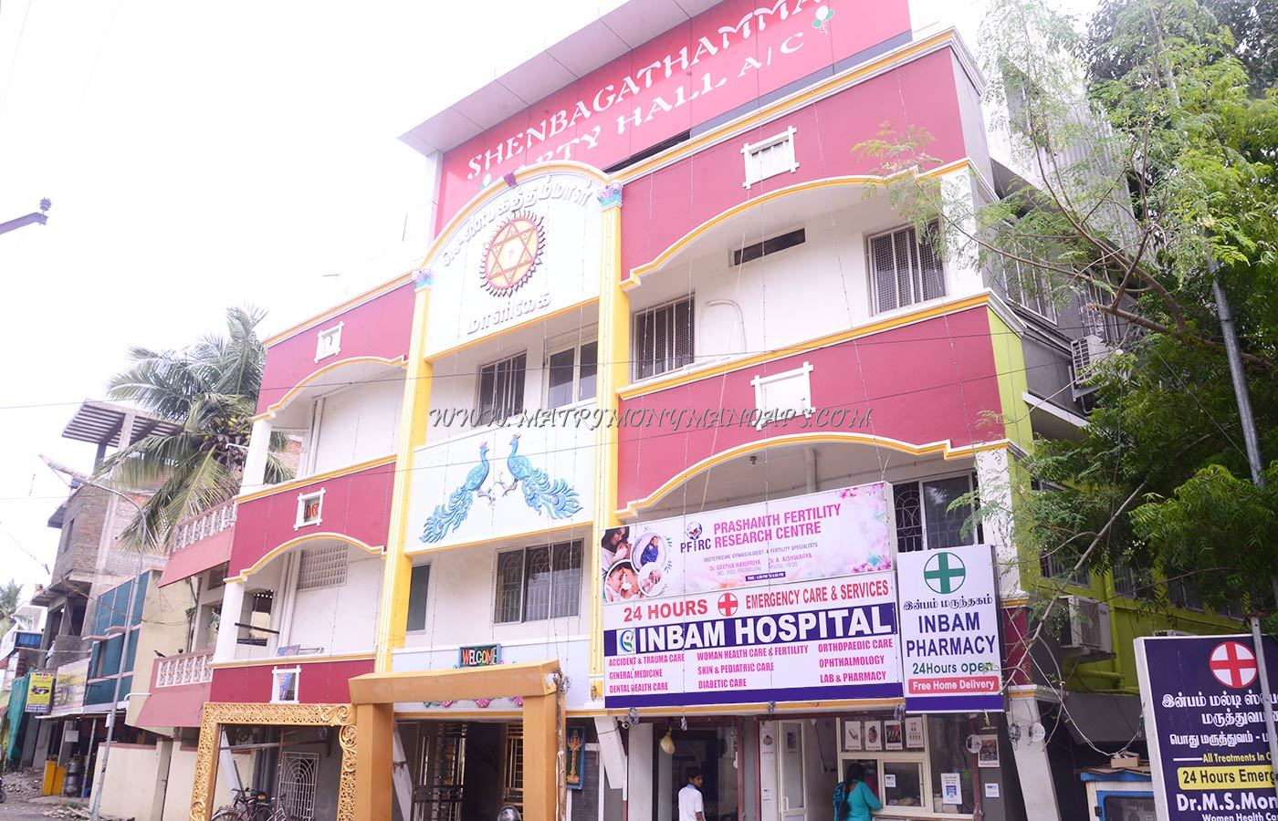 Find the availability of the Shenbagathammal Party Hall (A/C) in Pallikaranai, Chennai and avail special offers